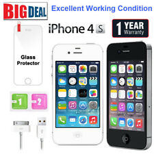 Apple iPhone 4S 8GB 16GB 32GB 64GB Factory Unlocked Mobile Smartphone US