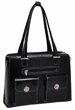 McKlein USA Verona Leather Laptop Handbag for Women Business Tote