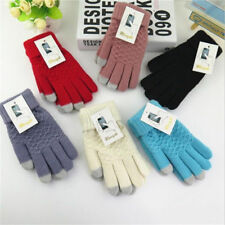 Jacquard Unisex Smartphone Texting Stretch Winter Knit Magic Touch Screen Gloves