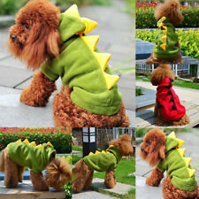 Puppy Dog Hoodie Costume Pet Pupply Coat Apparel Dragon Dinosaur Outfit Clothes