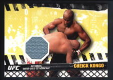 CHEICK KONGO 2010 TOPPS UFC FIGHT MAT RELIC OCTAGON MAT PATCH SP $15