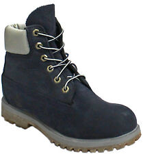 Timberland AF 6 Inch Premium Waterproof Womens Boots Leather Navy 3831R D38