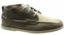 Timberland Classic 3 Eye Mens Chukka Boat Shoes Leather Suede Beige 6510R D69