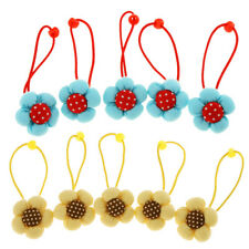 5Pcs Baby Headdress Hair Elastic Rope Ponytail Holder Hair Bands Accessories