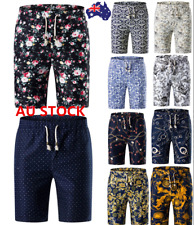 Men's Summer Beach Sports Shorts Surf Board Pants Cargo Work Casual Trousers