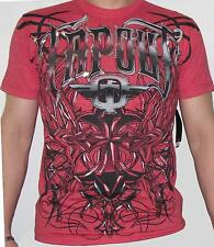 OFFICIAL TAPOUT MMA UFC RED HEATHER L TEE T-SHIRT BNWT Conor Mcgregor