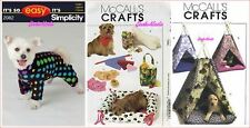 Pets Clothes Beds Toys Costumes Decor Sewing Patterns