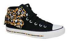 Converse CT All Stars PC2 Mid Tops Mens Trainers Leopard Print Black 141107F D34
