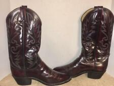 Dan Post SZ 7.5 Western Cowboy Boots Mens USA MADE Leather