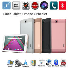 7'' Android Smartphone Phablet Dual Core SIM Cam 2G/GSM WIFI 1+8G Tablet PC New