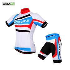 Mens Pro Biking Cycling Jersey Short Sleeve 3D Padded Short Tights MTB Bicycle