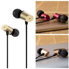 Super Bass Stereo 3.5mm In-Ear Earphone Headphone Earbud Metal Headset with Mic
