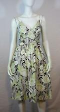 Tommy Bahama Rockabilly Retro Cotton Floral Tie Back Empire Dress 4