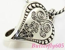 Brighton Ophelia Etched Silver Heart Badge Necklace - NWTag