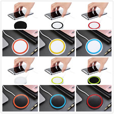 Portable Qi Wireless Charger Charging Pad Original for iphone Android SAMSUNG