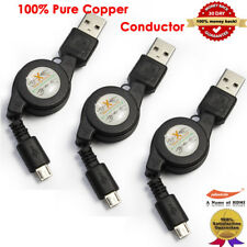 USB Retractable Cable, USB 2.0 Sync Data & Charge Cable for Android Phone Tablet