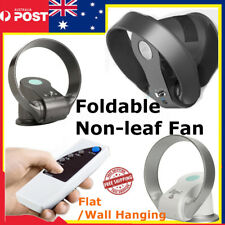 New Air Conditioning Fan Bladeless Shake Cooling Fan Remote Control Wall Mounted