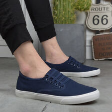Men's Slip On Loafers Canvas Breathable Casual Boat Shoes Driving Flats Sneakers