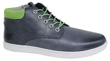 Timberland Graveton Cupsole Kids Chukka Boots Junior Navy Lace Up Zip A16LT U70
