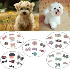 7Pcs Cute Hairpin Puppy Pet Dog Cat Hair Bows Clips Grooming Accessories NEW