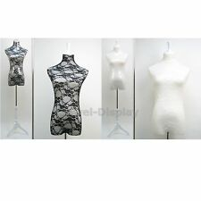 Lace Surface Woman Mannequin Dress Form Model Retail Store Display Pins On