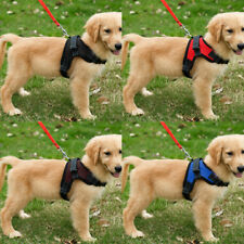 Strong Pet Harness Large Medium Dog Mesh Vest Harness Padded Chest Strap No Pull