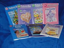 NEW WILTON YEARBOOK OF CAKE DECORATING PATTERN BOOK, YOU PICK