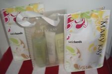 MARY KAY SATIN HANDS PAMPERING SET PEACH, WHITE TEA, FRANGRANCE FREE, YOU CHOOSE