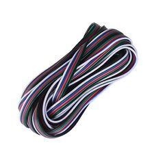 5-PIN RGB Extension Wire Cable Cord For 5050 RGBW RGBWE LED Strip Light Lamp