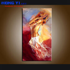 Handpainted Modern Decor Wall Art Nudes Sexy Girls Oil Painting Canvas Abstract