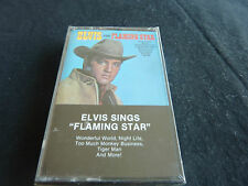 ELVIS SINGS FLAMING STAR RARE SEALED MINT NEW CASSETTE TAPE!