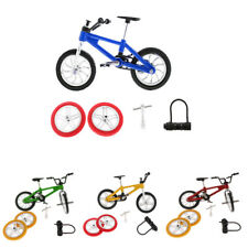 Set of Finger Mountain Bike BMX Fixie Bicycle Diecast Model Toy Creative Gifts