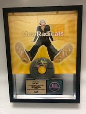 RIAA * NEW RADICALS * MAYBE YOU'VE BEEN BRAINWASHED TOO * GOLD RECORD CD AWARD