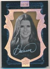 DANICA PATRICK 2016 UD MASTER COLLECTION ALL TIME GREATS AUTOGRAPH SP AUTO #/20
