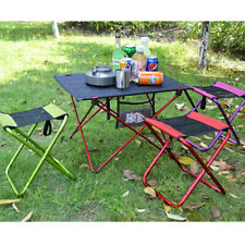 Portable Folding Camping Chair Outdoor Picnic Beach Stool with Carrying Bag