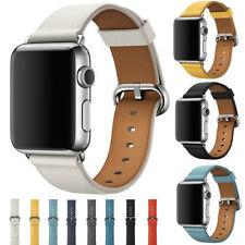 Band Wrist Strap For Apple Watch iWatch Series 1 2 38/42mm Genuine Leather