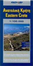 Map of Eastern Crete (Maps of Greek islands) by Road Editions Sheet map Book The