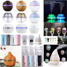 USB Car Essential Oil Ultrasonic Home Air Humidifier Aroma Therapy Diffuser Lot