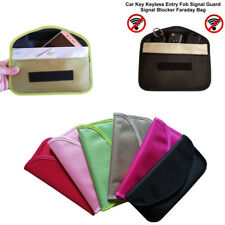 Genuine Car Key Keyless Entry Fob Signal Blocker Faraday Bag RFID Holder