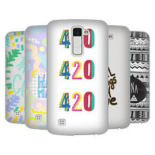 OFFICIAL VASARE NAR TYPOGRAPHY 2 HARD BACK CASE FOR LG PHONES 3