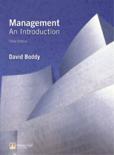 Management: An Introduction, David Boddy, Used; Good Book