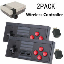 NEU 2x Wireless Gamepad Controller Joystick für Nintendo Mini Classic NES SET DE