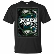 New Philadelphia Eagles Vintage T-Shirt Fly Eagles Fly Football Team Size S-6XL