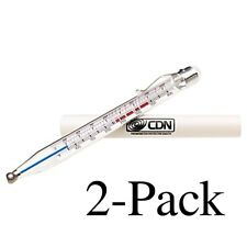 CDN Candy & Deep Fry Thermometer, 75℉ to 400℉ - Model: TCF400 (Pack of 2)