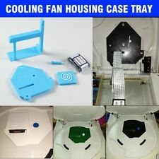 Sega Dreamcast GDEMU Cooling Fan Housing Case Tray Mod &Flat Cable & SD Card BUS