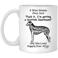 Scottish Deerhound Gift For Dog Mom Coffee Mug 11oz 15oz Mothers Day Gift