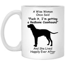 Redbone Coonhound Gift For Dog Mom Coffee Mug 11oz 15oz Mothers Day Gift