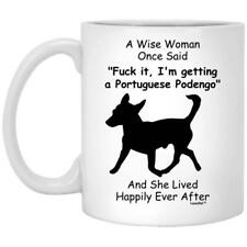Portuguese Podengo Gift For Dog Mom Coffee Mug 11oz 15oz Mothers Day Gift