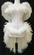Angel/Showgirl/Saloon Moulin Cosplay Carnival Parade Circus Burlesque Costume
