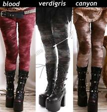 Punk EMO MUMMY Torn Distressed HOLE GRUNGE ASH Leggings